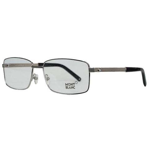 Mont Blanc Glasses Frames 0481 016 Palladium Silver - Usa-optical.com