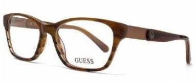 Guess Glasses Women GU 2356 BRN Brown Full Frame - Mall Bloc