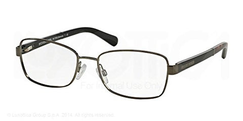 Michael Kors Menorca Eyeglasses MK7003 1009 Gun Black Dk Tortoise 52 17 135 - Usa-optical.com