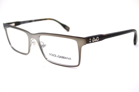 D&g Vibrant Colours Dd5115 Eyeglasses 090 Matte Gunmetal Demo Lens 52 17 135 - Usa-optical.com