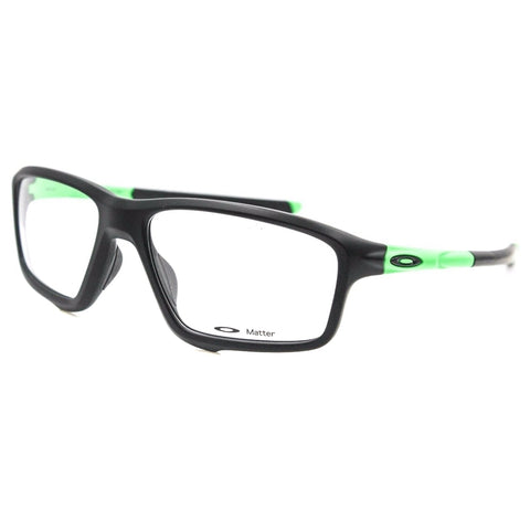 Oakley Eyewear Unisex OX8076 0556 Satin Neon Green Glasses - Usa-optical.com
