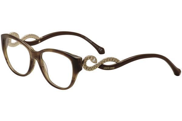 Eyeglasses Roberto Cavalli RC 938 RC0938 047 light brown/other - Mall Bloc