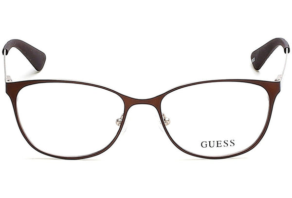 Guess GU 2564 049 51mm Dark Brown Eyeglasses - Usa-optical.com