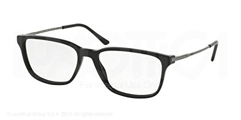 Polo PH2134 Eyeglass Frames 5284-56 - Vintage Black - Mall Bloc