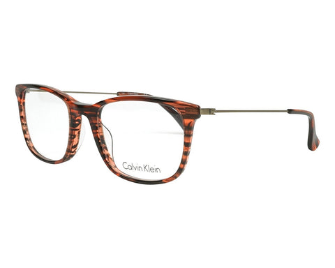 Calvin Klein Eyeglasses CK 5929 231 STRIPED BROWN - Mall Bloc