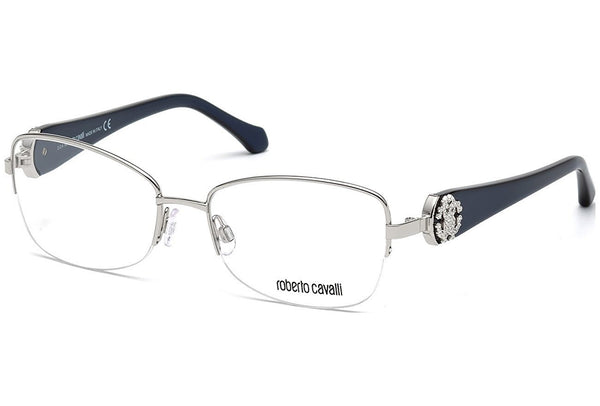 ROBERTO CAVALLI Eyeglasses RC0932 016 Shiny Palladium 54MM - Usa-optical.com