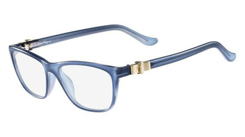 Salvatore Ferragamo SF 2728 462 53mm Light Blue Eyeglasses - Usa-optical.com