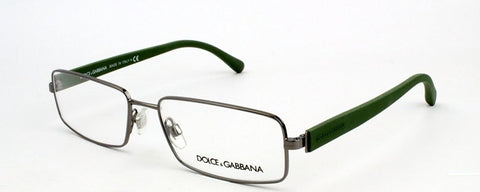 Dolce & Gabbana DG1237 Eyeglasses-1188 Gunmetal-54mm - Usa-optical.com