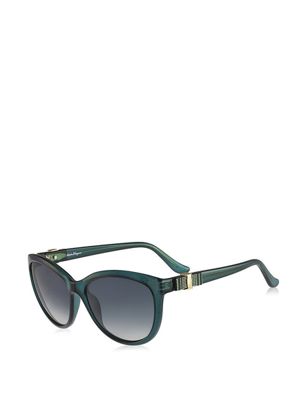 Sunglasses FERRAGAMO SF 760 S 315 GREEN - Usa-optical.com