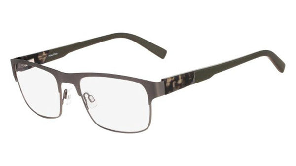 Nautica N7257 Eyeglasses 027 Gunmetal - Usa-optical.com