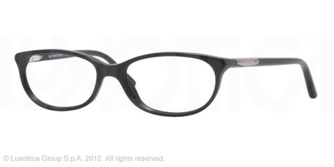Burberry BE2097 Eyeglasses 3001 Shiny Black - Usa-optical.com
