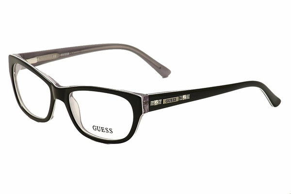 GUESS Eyeglasses GU 2344 Black 53MM - Usa-optical.com