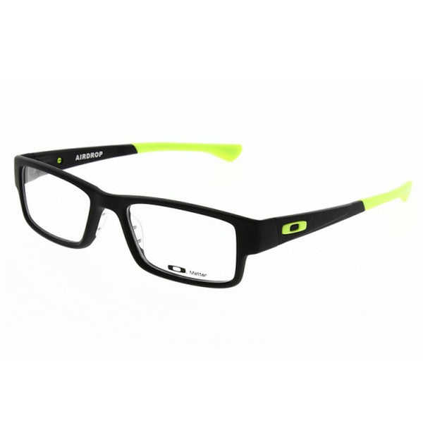 Oakley Eyewear Unisex OX8046 0853 Satin Black Glasses - Usa-optical.com