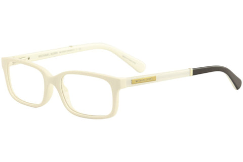 Michael Kors Medellin Eyeglasses MK8006 3012 Oak White Black 52 16 140 - Usa-optical.com
