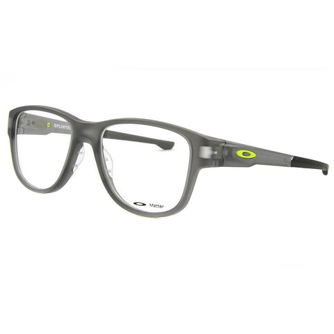 Oakley Eyewear Unisex OX8094 0553 Satin Grey Smoke Glasses - Usa-optical.com