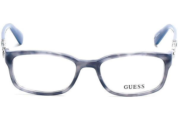 Guess GU 2558 51092 Blue Eyeglasses - Usa-optical.com