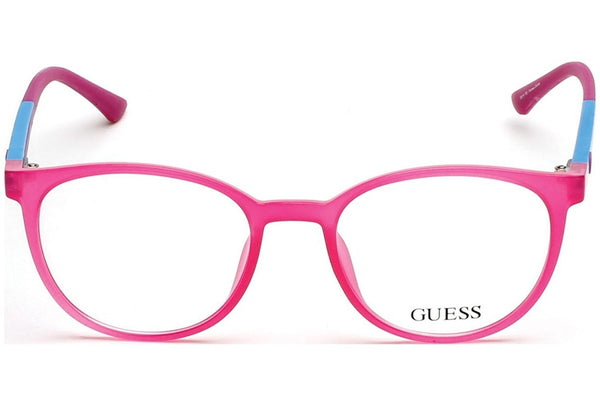 Guess - GU2495, Round, general, women, STRAWBERRY AZURE(072), 50/18/135 - Mall Bloc
