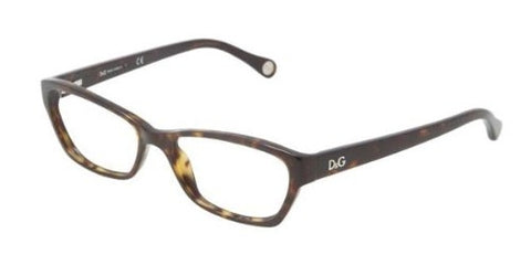 D&g Vichy Dd1216 Eyeglasses 502 Havana Demo Lens 50 16 135 - Usa-optical.com