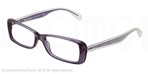 DOLCE & GABBANA DG3142 2543 VIOLET TRANSPARENT 5115lx - Usa-optical.com