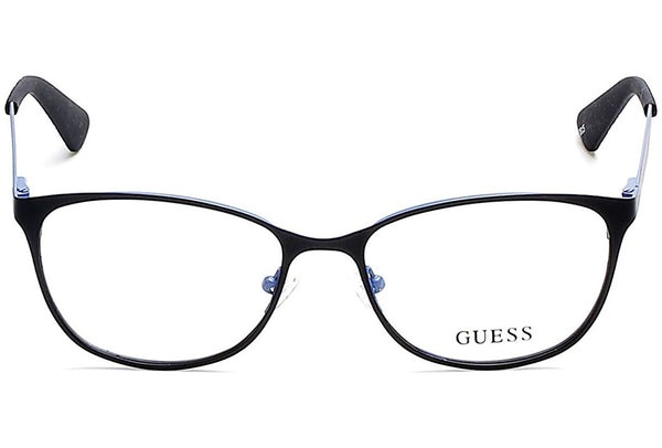 Optical frame Guess Metal Matt Black - Blue (GU2564 005) - Usa-optical.com