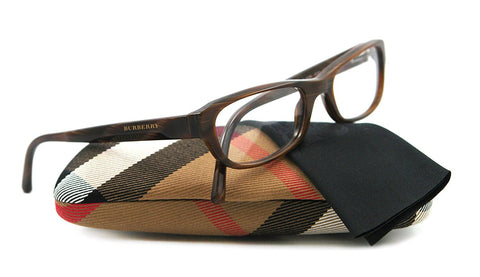Burberry Eyeglasses BE 2096 BROWN 3022 51MM BE2096 - Mall Bloc