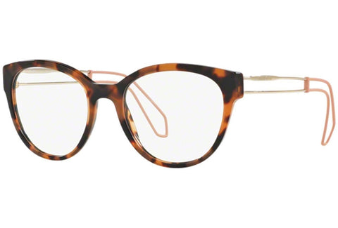 Miu Miu 0MU 03PV-USM1O1DARK HAVANA-52mm - Usa-optical.com