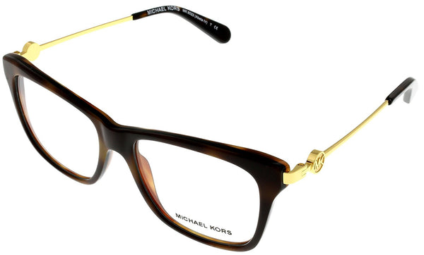 Michael Kors Antibes Eyeglasses MK4016 3005 Black 51 17 135 - Usa-optical.com