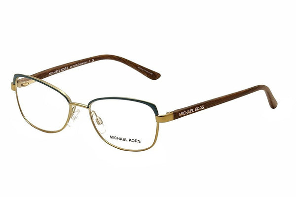 Michael Kors Eyeglasses Grace Bay MK7005 1046 Tile Blue/Gold Optical Frame 52mm - Usa-optical.com