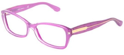 Dolce & Gabbana DG3176 Eyeglasses-2772 Top Crystal On Pearl Violet-52mm - Mall Bloc