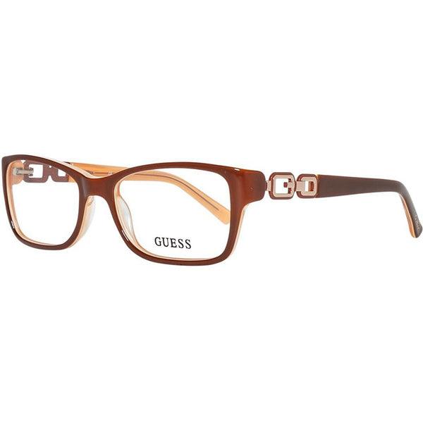 Guess - GU2406, Geometric, acetate, women, CHERRY PINK(D96), 52/17/0 - Mall Bloc