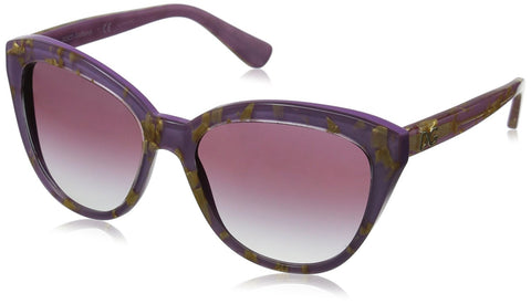 D&G Dolce & Gabbana Women's 0DG4250 Polarized Cateye Sunglasses, Crystal,Black - Usa-optical.com