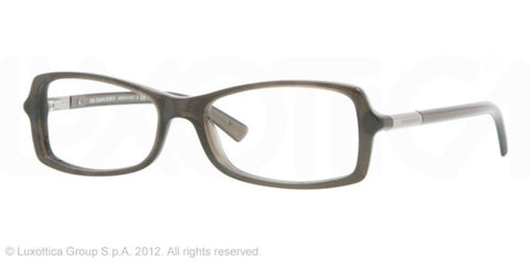 BURBERRY Eyeglasses BE 2083 3227 Striped Gray 52MM - Mall Bloc