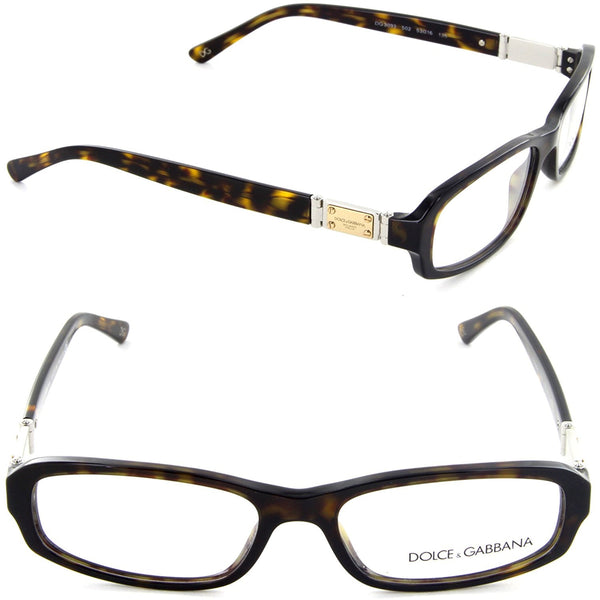 Dolce Gabbana DG 3093 502 Rectangle Eyeglasses Havana/Demo Lens - Usa-optical.com