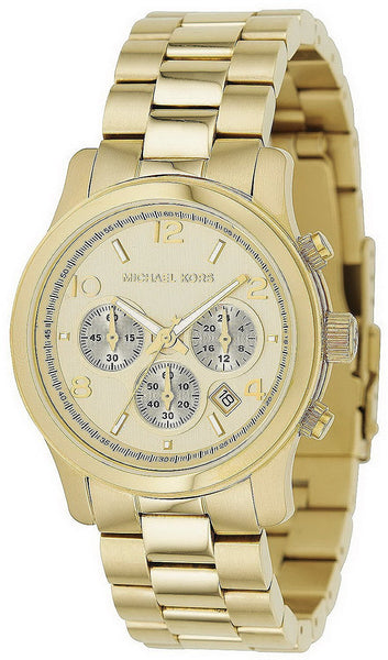 Michael Kors Copper Midsized Round Dial Chronograph Women Quartz Wristwatch Mk5055 - Usa-optical.com