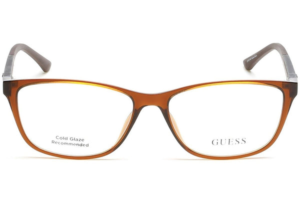 Eyeglasses Guess GU 2497 (GU 2497) GU2497 (GU2497) 050 dark brown/other - Usa-optical.com
