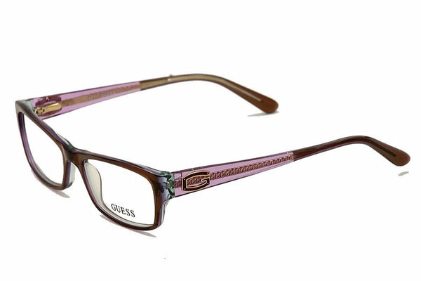 GUESS Eyeglasses GU 2373 Brown Purple 51MM - Usa-optical.com