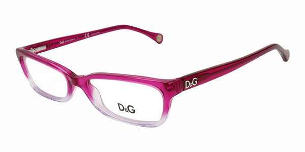 D&g Dd1189 Eyeglasses Fuxia Gradient Demo Lens 52 16 135 - Usa-optical.com