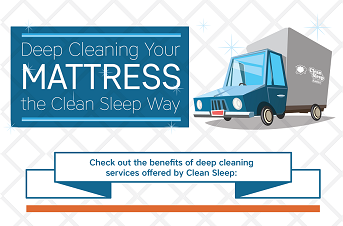 Deep Cleaning a Mattress the Clean Sleep Way