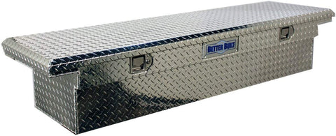 Better Built Silver Low Profile Diamond Plate Toolbox