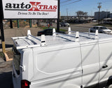 3 Bar Ladder Rack With Roller For Low Roof Ford Transit