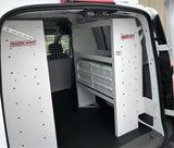Weather Guard Adjustable Steel Shelving for Compact Vans