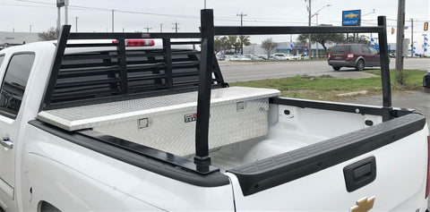 Browns Welding Heavy Duty Headache/Ladder Rack with Removable Rear Bar