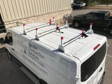 Weather Guard Steel Ladder Rack For Full Size Low Roof Vans with Free Ladder!