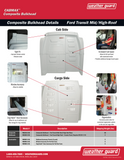 Weather Guard CabMax Composite Bulkhead
