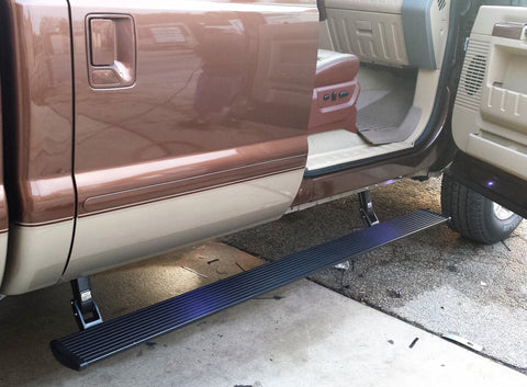 Power Running Boards >> Amp Research Power Running Boards