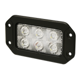 Ecco Rectangular Flush Mount LED Worklight
