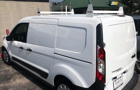 2 Bar Ladder Rack For Ford Transit Connect