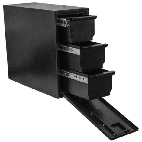 Better Built Black Steel Tool Tower Utility Box