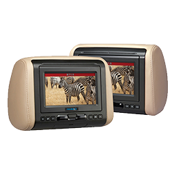 MoviesToGo 7 Inch Dual Headrest DVD System