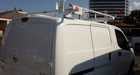Weather Guard Quick Clamp Single Ladder Rack For Vans